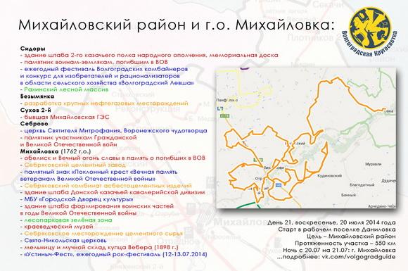 Волгоградская Кругосветка - Михайловский район