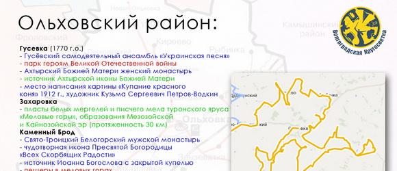 21 мая 2014, ср, 13:54  День #23, вторник, 22 июля 2014 года. Старт в городе Фролово. Цель – Ольховский район. Выбранные нами объекты для посещения смотрим на карточке района...