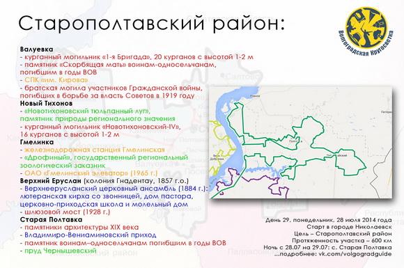 Волгоградская Кругосветка - Старополтавский район