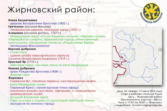 Волгоградская Кругосветка - Жирновский район